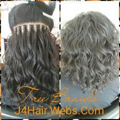 Cornrow tree braids #hairbydeanna #j4hairstudio