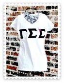 Gamma Sigma Sigma T-shirts, Greek Twill Shirts