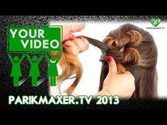Плетение волос узлами. Анастасия Юхименко (HSH) parikmaxer.tv on www.hairbrained.me