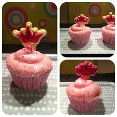 My pink cupcakes