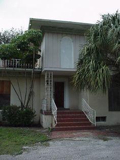 Front door and stairway
