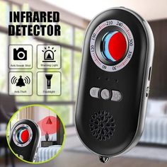 Multifunctional Infrared Detector Anti-Spy Hidden Camera Detector Infrared Anti-lost Anti-theft Alarm System Sensing Device Super Fast Delivery: 5 to 8 days Clever Gadgets, Gadgets And Gizmos, Technology Gadgets, Tech Gadgets, Cool Gadgets To Buy, Useful Gadgets, Office Gadgets, Spy Detector, Hidden Camera Detector