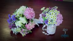 How to Make a Posy Using Garden Flowers Floristry Tutorial