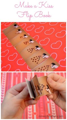 Make a Kiss Flip Book and Other Simple Ways to Be Kind to Your Family