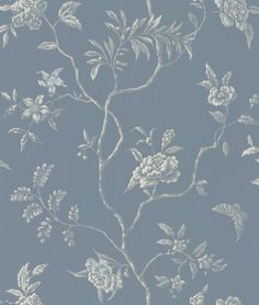 Delancey Blue wallpaper by Colefax and Fowler