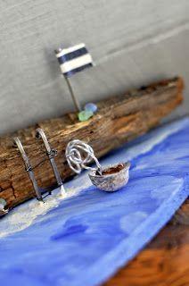 By the sea Handmade Decorations, Sea, The Ocean, Ocean, Handmade Ornaments
