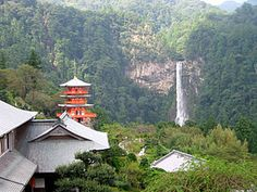 Nachi Falls in Nachikatsuura, Wakayama Prefecture, Japan, is one of the best-known waterfalls in Japan. With a drop of 133m, it is often erroneously thought to be the country's tallest. In fact, the tallest waterfall in Japan is the Hannoki Falls, at 497 m.