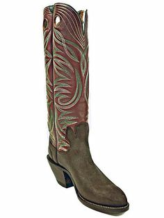 Handsome Paul Bond Work Boots Man Boots, Cool Boots, Cowboy Gear, Cowboy And Cowgirl, Custom Cowboy Boots, Western Boots, Buckaroo Boots, Boot Shop, Sport Casual