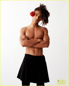Jaden Smith Is Gender-Fluid for This New Shirtless Photo