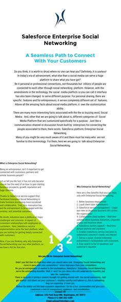 Salesforce Enterprise Social Networking