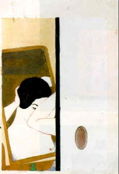 Mirror (1930) - Koshiro Onchi  It's what you don't see.