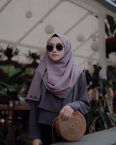 Hijab Style Dress, Modest Fashion Hijab, Casual Hijab Outfit, Muslim Fashion, Fashion Outfits, Hijab Fashion Inspiration, Fashion Project, Beautiful Hijab, Mode Hijab