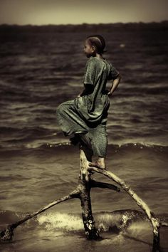 Facing the Sea by Diego Arroyo --Kenya