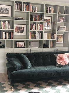Platsbyggda bokhyllor är en trend - Elaine Eksvärd