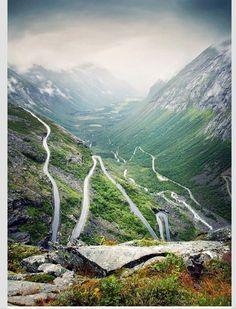 Trollstigen road, Norway.