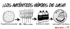 los verdaderos héroes de Lush son sus champús sólidos