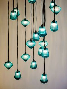 Glass Bead Pendant Light by Tom Dixon is made from thick mouth blown glass & its characterized by hand cut radiating lines around its exterior. Glass Pendant Lights Uk, Glass Light Fixtures, Glass Pendants, Pendant Lighting, Glass Beads, Glass Lights, Pendant Lamps, Lantern Pendant, Tom Dixon