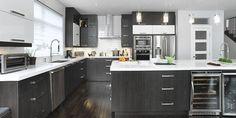 armoires de cuisine 2 couleurs - Recherche Google