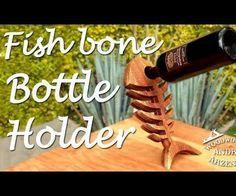 Fishbone Wine Bottle Holder