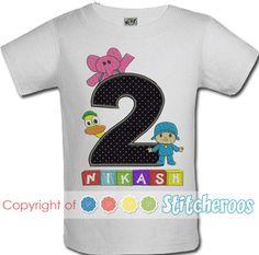2f0f55113 Pocoyo Birthday Shirt or Onesie
