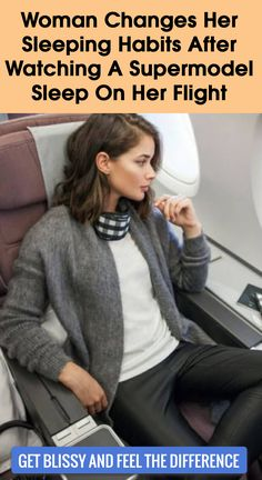 Woman Changes Her Sleeping Habits After Watching Supermodel Sleep On Her ✈️ Flight After a long 17 hour ✈️, we were touching down when the cabin lights turned on. I knew I was a Womens Fashion For Work, Travel Style, Health And Beauty, Long Flights, Supermodels, Beauty Hacks, Stuffing, Hair Beauty, Sleep