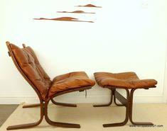Westnofa Ingmar Relling Siesta Chair with Footstool