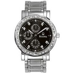 Bulova Men's 32 Diamond Bracelet Watch w/ Multifunction Dial - product - Product Review #WinatomAddmefastBot