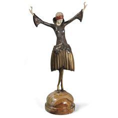 Paul Philippe -  'DANCER WITH TURBAN', CIRCA 1930
