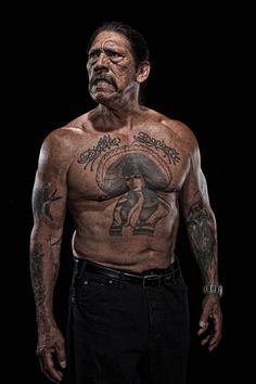 danny trejo  i love this guy! He's the hardest working man in hollywood! He's in…