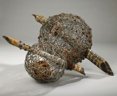 Contemporary Basketry: Spheres, Tossed Ashore, Shannon Weber