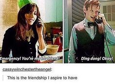 Oh, sweetie, friendship? Really? That was SO MUCH more than friendship