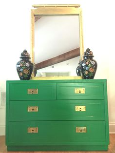 Henredon Campaign Dresser Asian Inspired | Pinterest | Campaign Dresser,  Dresser And Walnut Dresser