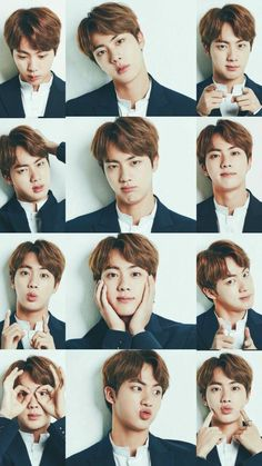 ☆ Jin ♪ Kim Seokjin ♡ 김 석 진 House Beautiful house beautiful roman shades Seokjin, Namjoon, Taehyung, Bts Jin, Bts Bangtan Boy, Jimin Jungkook, Foto Bts, Billboard Music Awards, Kpop Anime