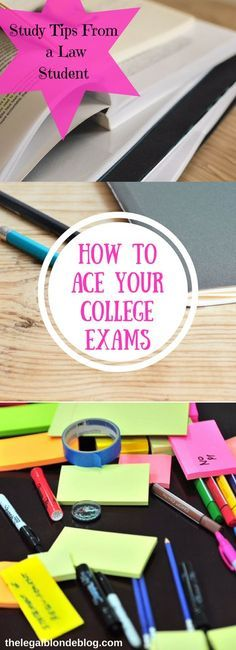 I am graduating from law school this month, and I have put together my best tips for acing your exams!