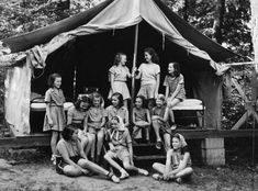 girl scout camping