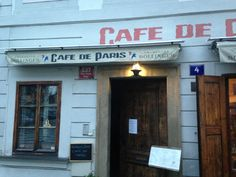 """See 78 photos and 58 tips from 1140 visitors to Cafe de Paris. """"Their food is delicious and always fresh, their staff is well-educated and friendly. Beverages, Outdoor Decor, Food, Essen, Meals, Yemek, Eten"""