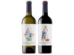 Rebels de Batea   'Otras 101 etiquetas de botellas de vino... (2ª parte)' by @Recetum