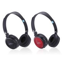 Geek | New Digital Wireless 3 in 1 Multifunctional Stereo Bluetooth Headphone Earphone Headset with Mic MP3 Player MicroSD/TF Music FM Radio for Smart Phones Tablet PC Notebook (Color: Black)
