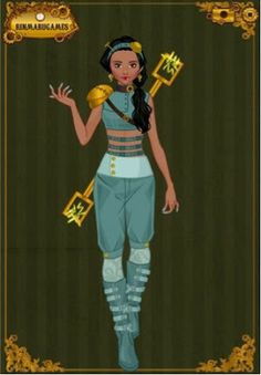 EPBOT: Steampunk Disney Princesses