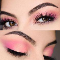37 top rose gold makeup ideas to look like a goddess Huda Beauty Rose Gold Palette, Rose Gold Makeup, Glam Makeup, Makeup Inspo, Beauty Makeup, Makeup Ideas, Makeup Tips, Hair Makeup, Unique Makeup