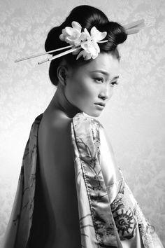 Photography - Jordan Duvall jordanduvall.com MUA - Hiila Peer hillapeer.com Model - Yuki Matsumura