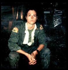 "Sigourney Weaver as ""Ripley"" - polaroids from ALIEN, 1979"