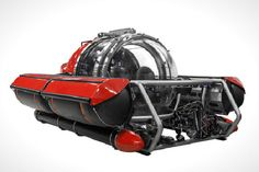 Explore the Depths of the Sea in this 5 Person Luxury Sub