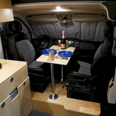 60 Easy Ways To Organize Your RV/Camper To Inspire. RV Camping is a great family experience. Possessing a favorite RV thatas in great shape consistently will be able to assist you in making a much bet. Sprinter Van Conversion, Camper Van Conversion Diy, Camper Life, Rv Campers, Teardrop Campers, Teardrop Trailer, Kombi Trailer, Airstream Trailers, Travel Trailers