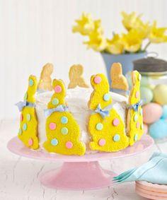 Tartas de conejos de Pascua