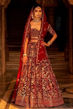 Beautiful Exclusive Designer Maroon Color Bridal Lehenga Choli-Bridal Lehenga Store Best Picture For Bridal Outfit receptions For Your Taste You are looking for something, and it is going to tel Designer Bridal Lehenga, Latest Bridal Lehenga, Indian Wedding Lehenga, Bridal Lehenga Choli, Lehenga Gown, Bollywood Bridal, Indian Weddings, Indian Bridal Outfits, Indian Bridal Fashion