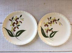 Southern Potteries Blue Ridge Pottery plates by 1350Northvintage