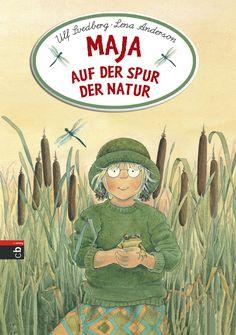 """Das illustrierte Sachbuch """"Maja auf der Spur der Natur"""" von Ulf Svedborg und Lena Anderson bringt Kindern Tiere und Pflanzen näher. Rezension von der Buchhexe."""