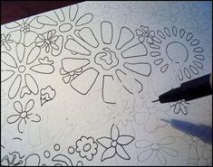 Flower sketches: Balancing Botanicals