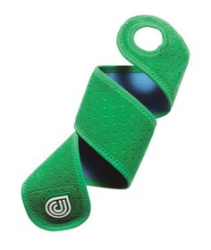Dr. Cool Wraps: Instead of sitting stone-still while balancing a bag of frozen peas on your sore ankle, dip this compression wrap in water, pop it in the freezer, then Velcro it in place. The wrap won't budge, even while you run around.